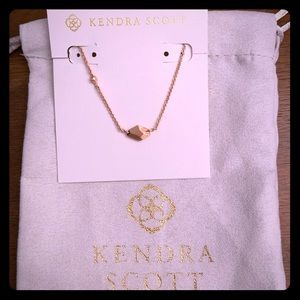 New Kendra Scott Rose Gold Laureen Necklace